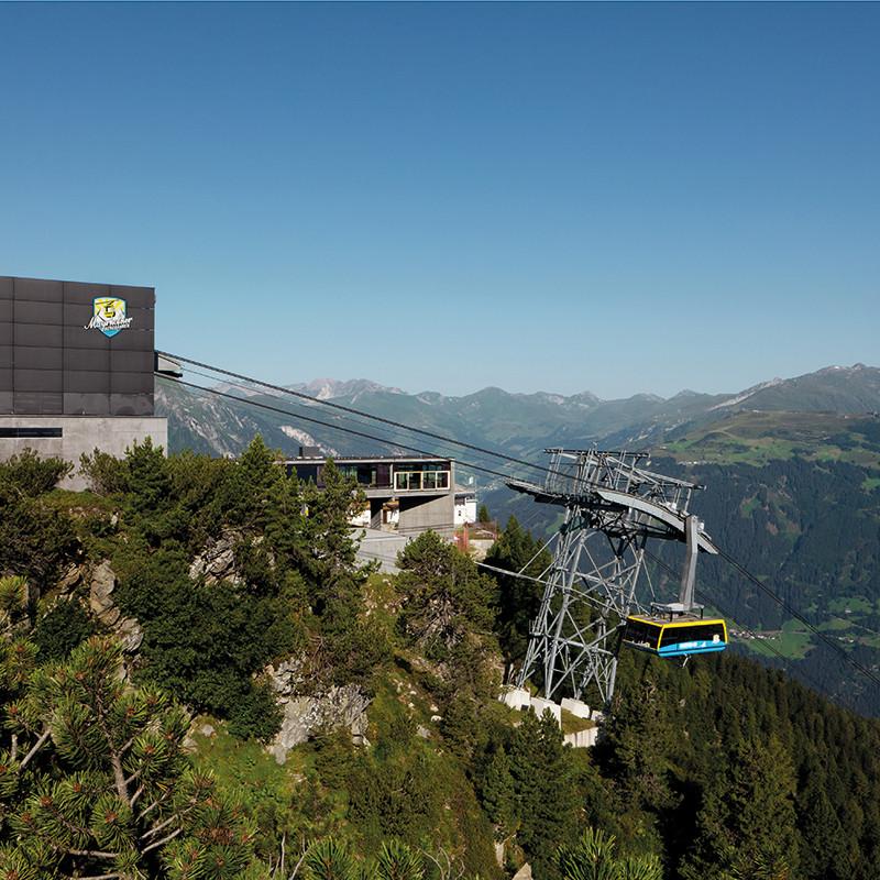Voucher Ascent and descent with the Mayrhofner Bergbahnen in summer
