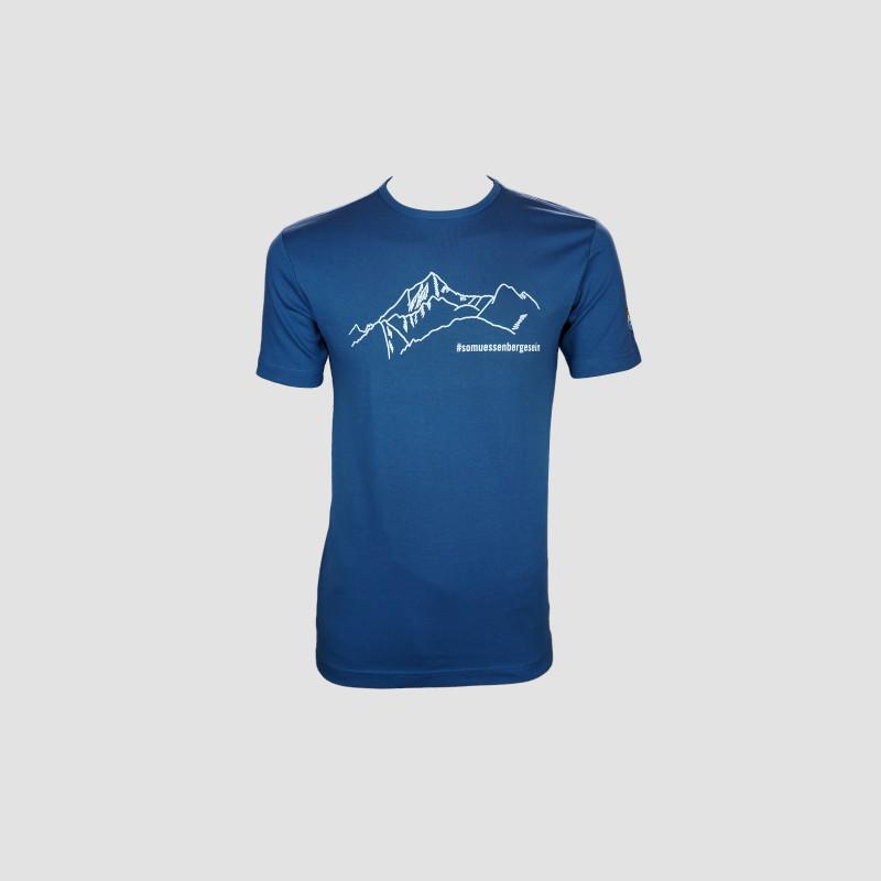 """T-Shirt """"So müssen Berge sein"""" indigo"""